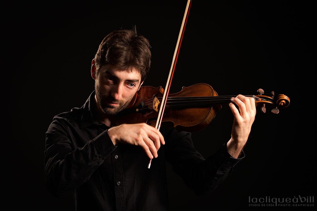 Florian Perret au violon