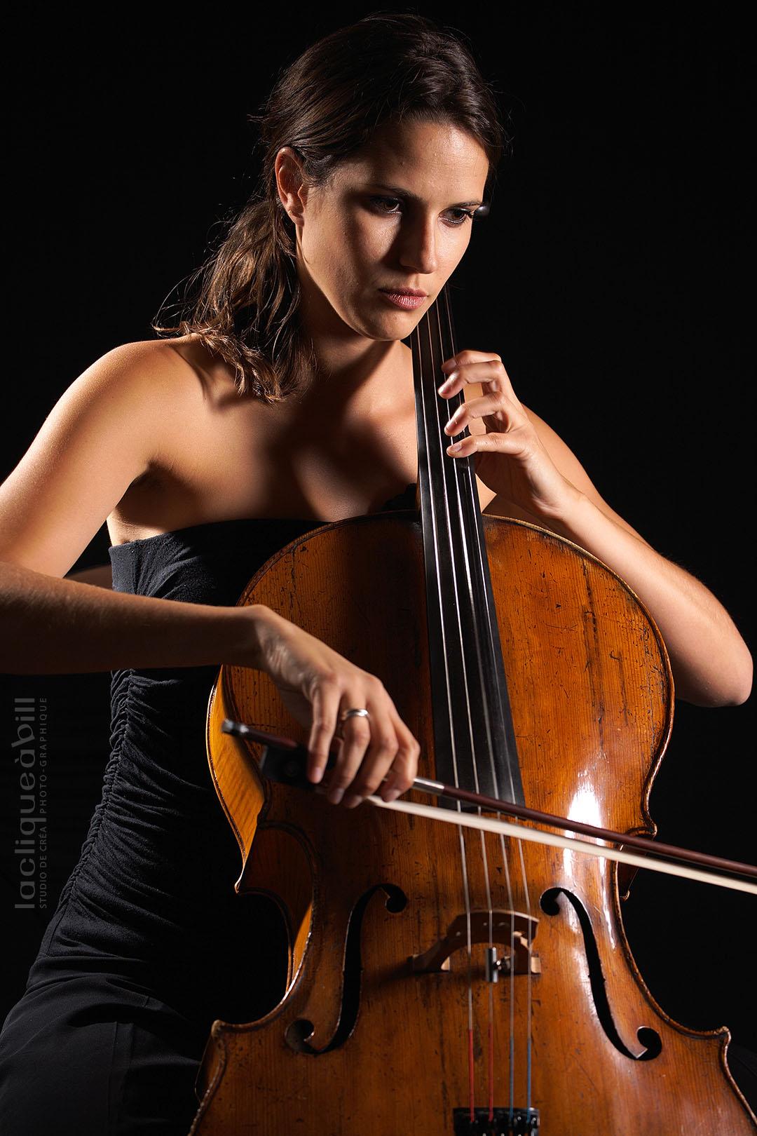 Gaëlle Fabiani au violoncelle