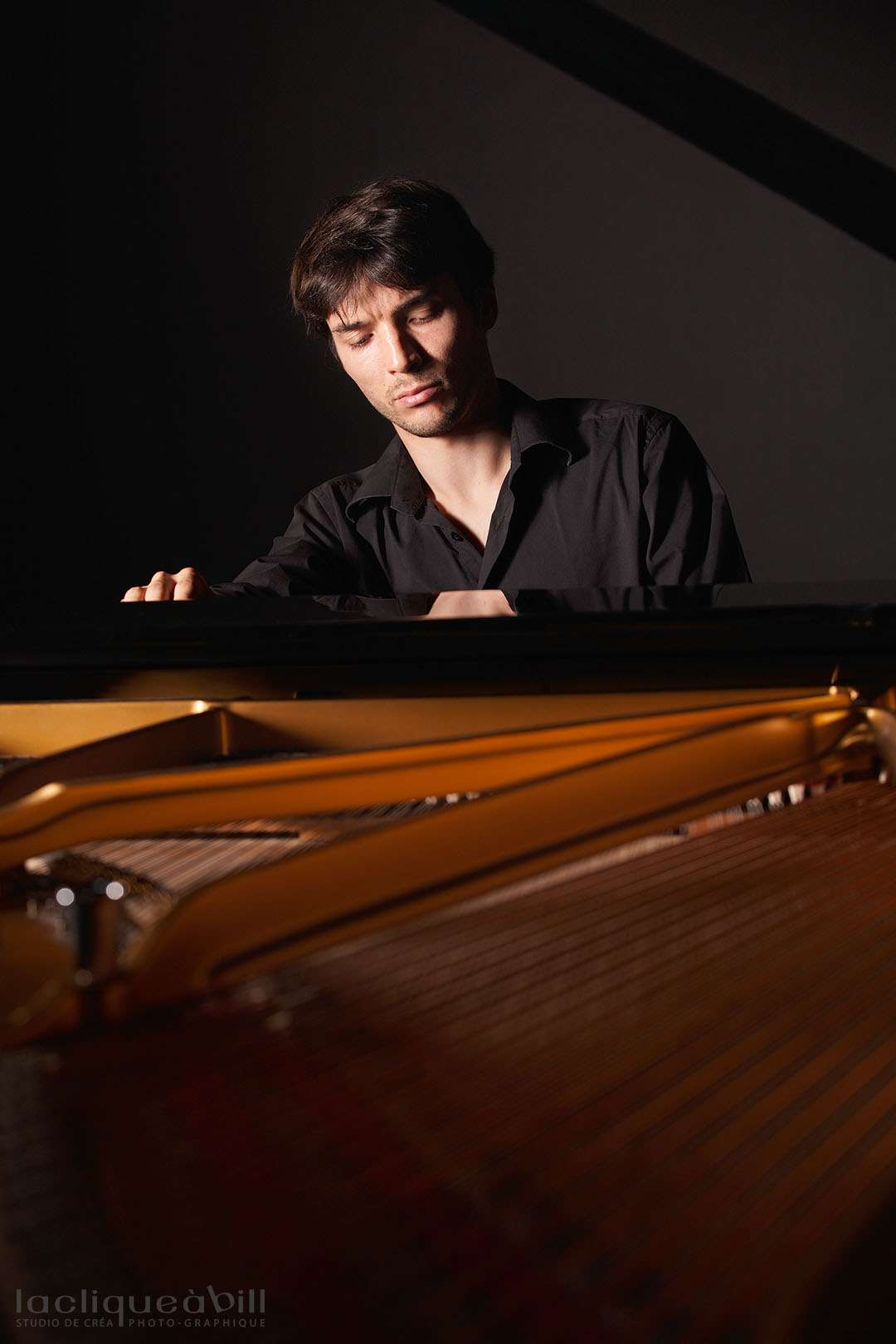 Hugues Chabert au piano