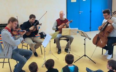 Ateliers Pédagogiques de musique pour les écoles