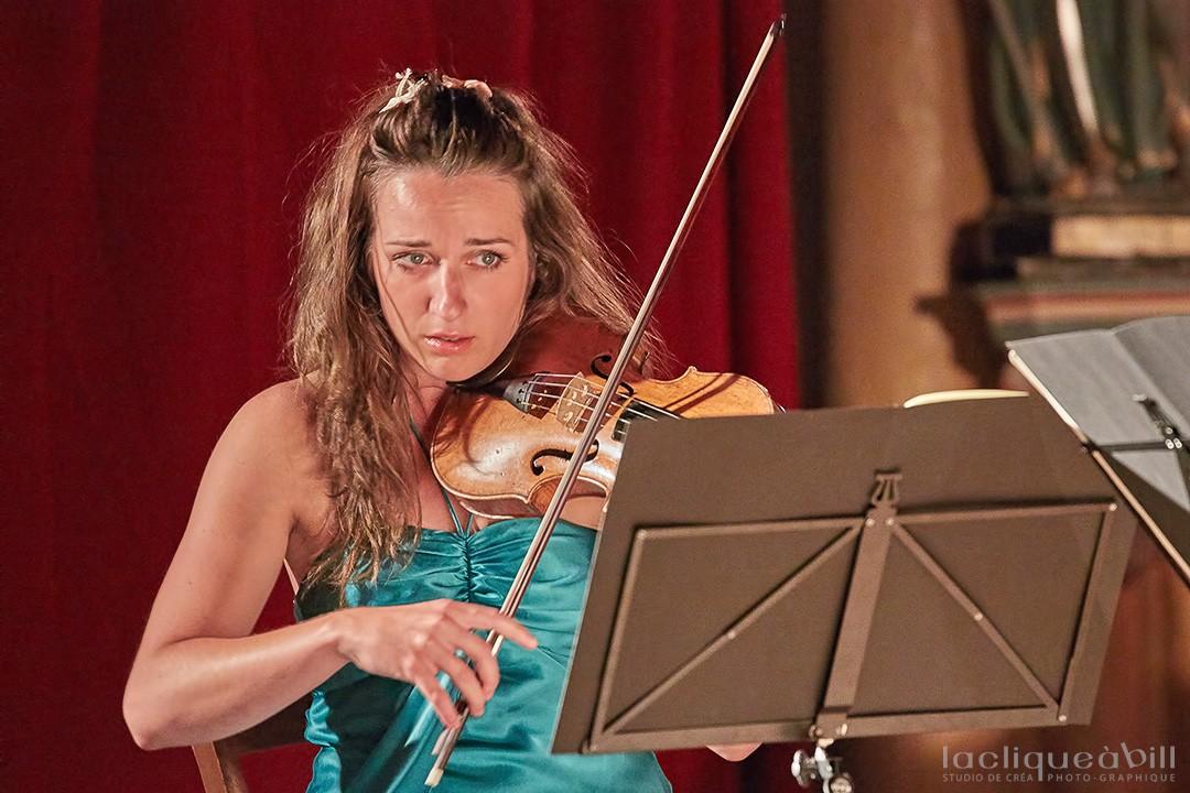 Charlotte Maclet, Violoniste