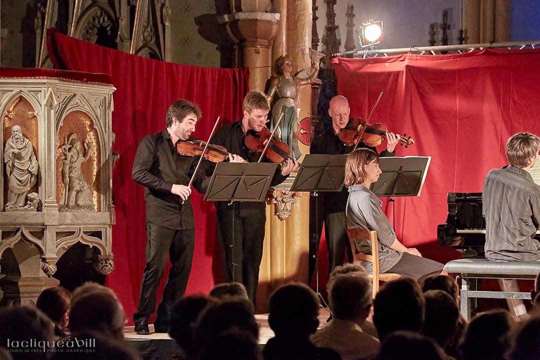 Concert du dimanche du festival des Montagnes du Matin.