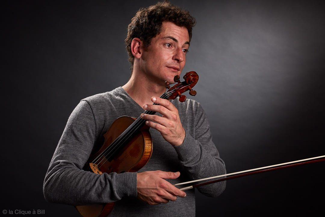 Damien Vergez violoniste