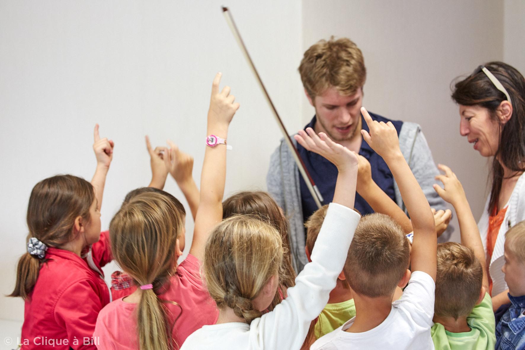 Ateliers pédagogiques 2016, Festival des Montagnes du Matin